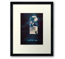 the view from the tower Framed Print