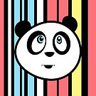 Panda Retro by Adamzworld