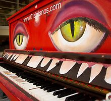 Red Piano by MizQ