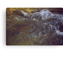 The Texture of Water Canvas Print