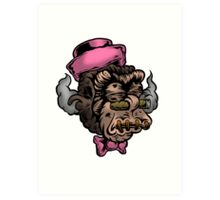 Mr Shrunken Teeny Art Print