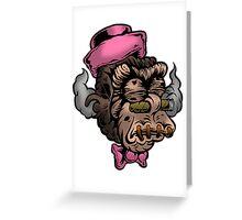 Mr Shrunken Teeny Greeting Card
