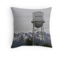 Palmer, Alaska Throw Pillow