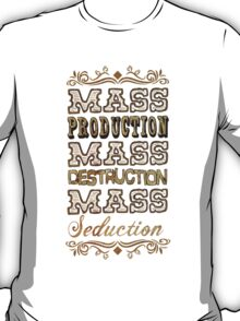 Industrielle Designs- Mass Production T-Shirt