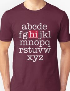 The Alphabet T-Shirt