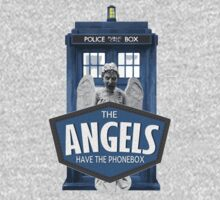 Inspired by The Doctor - Weeping Angels - The Angels Have the Phonebox - Don't Blink by traciv