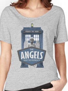 Inspired by The Doctor - Weeping Angels - The Angels Have the Phonebox - Don't Blink Women's Relaxed Fit T-Shirt