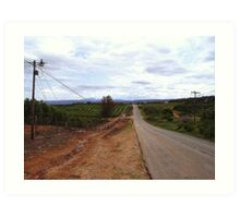 Road to Patensie Art Print