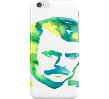 Ron Swanson Watercolor  iPhone Case/Skin