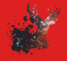 Space Stag Kids Tee
