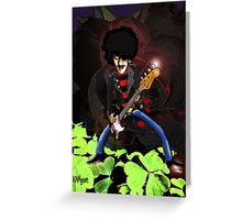 Phil Lynott of Thin Lizzy Greeting Card