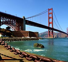 San Francisco, CA - Golden Gate Bridge by Mike Oliver