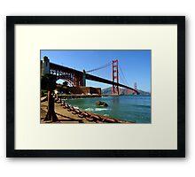 San Francisco, CA - Golden Gate Bridge Framed Print