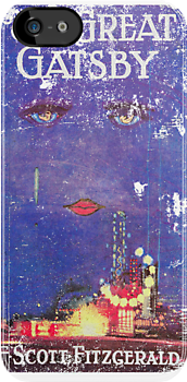 Great Gatsby Worn & Torn Book Cover by Look Human