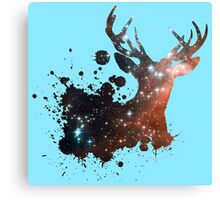 Space Stag Canvas Print