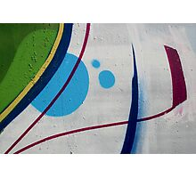 Graffiti Abstraction Photographic Print