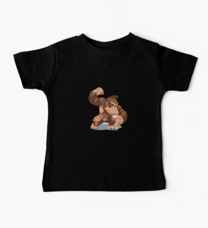 Minimalist Donkey Kong from Super Smash Bros. Brawl Baby Tee