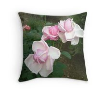Exploding! Pink baby blooms Throw Pillow