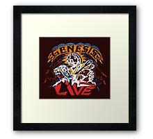 GENESIS LIVE Framed Print