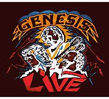 GENESIS LIVE Photographic Print