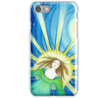 Expansion into higher consciousness iPhone Case/Skin