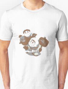 Minimalist Ice Climbers from Super Smash Bros. Brawl Unisex T-Shirt
