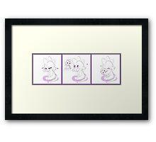 Spike's Rarity Plush Framed Print