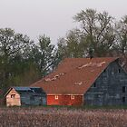 An Iowa Barn 3 by Jean Martin