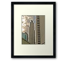 Some San Francisco Architecture Framed Print