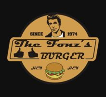 THE FONZ'S BURGER by kingUgo