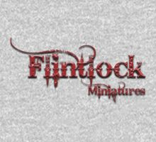 Flintlock miniatures logo 2 Kids Clothes