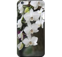 White Orchid, the flower of love iPhone Case/Skin