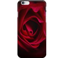 Dark Red Rose iPhone Case/Skin