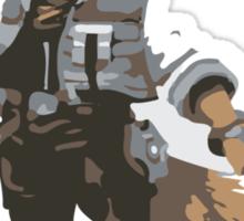 Minimalist Fox from Super Smash Bros. Brawl Sticker