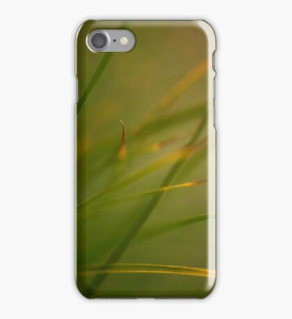 Silken Grass iPhone Case/Skin