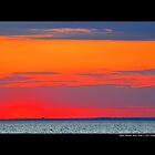 Long Island Sound Sky After Sunset - Stony Brook, New York by © Sophie Smith