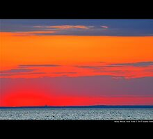 Long Island Sound Sky After Sunset - Stony Brook, New York by © Sophie W. Smith