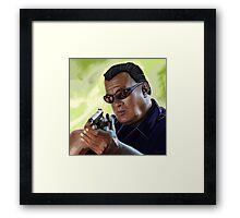 Steven Seagal Framed Print