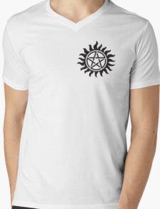 Supernatural Tattoo Mens V-Neck T-Shirt