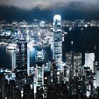 City Landscape At Night by jamjam195