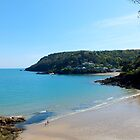 North Sands Beach, Salcombe by Hannah Sterry
