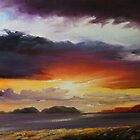 Dingle sunset by Roman Burgan
