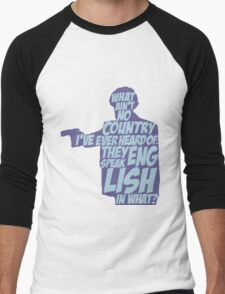 Pulp Fiction - Jules: They Speak English in What? Men's Baseball ¾ T-Shirt