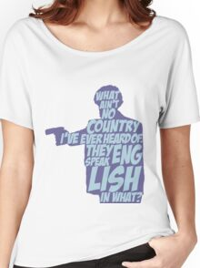 Pulp Fiction - Jules: They Speak English in What? Women's Relaxed Fit T-Shirt
