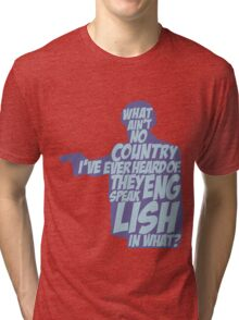 Pulp Fiction - Jules: They Speak English in What? Tri-blend T-Shirt