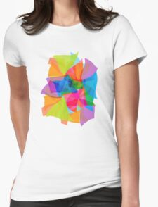 Paper Craft Tissues Womens Fitted T-Shirt