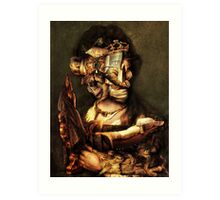 Gaurdian of the ChildS Bed. Art Print