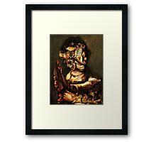 Gaurdian of the ChildS Bed. Framed Print