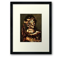 Gaurdian of the ChildS Bed. Framed Print