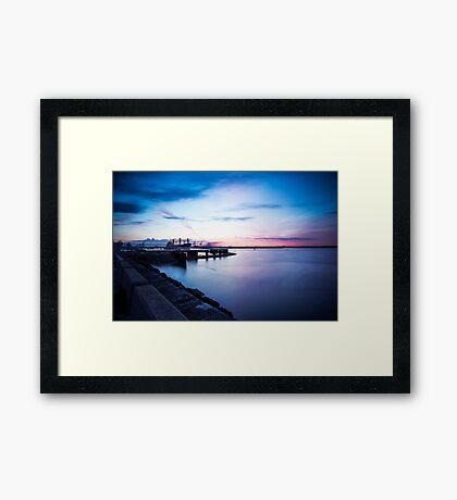 Dublin Bay, Ireland Framed Print